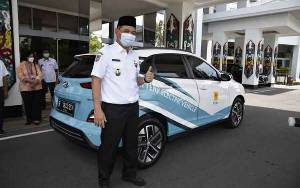 Pemprov Kalteng Dukung Program Mobil Listrik