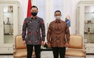 AHY Bantah Pertemuan dengan Anies Bahas Pilpres 2024