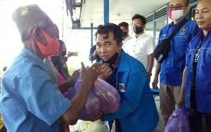 Berbagi Berkah Ramadan, PWI Barito Selatan Bagikan Sembako