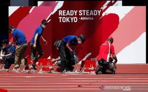 Olimpiade Tokyo Gelar Uji Coba Atletik Tanpa Penonton