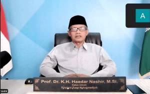 Haedar Nashir: Momentum Idul Fitri untuk Aktualisasi Nilai Pancasila