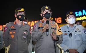 Polri Libatkan Anggota Bersenjata di Pos Penyekatan