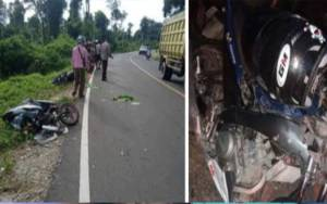 H-2 Idul Fitri, Sejumlah Kecelakaan Lalulintas Terjadi di Jalan Trans Kalimantan Wilayah Katingan
