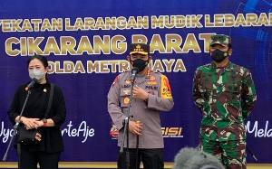 Kapolri Ingatkan Jajaran Awasi Arus Silaturahmi di Wilayah Aglomerasi