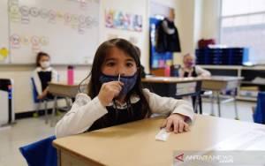 Sekolah di Amerika Dianjurkan Tetap Wajibkan Genggunaan Masker