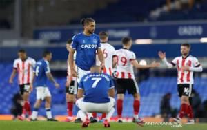 Mimpi Eropa Everton Redup Selepas Dipecundangi Tim Juru Kunci