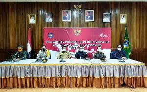 Forkopimda Seruyan ikuti Pengarahan Presiden Jokowi Secara Virtual