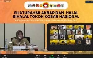 Pandemi Covid-19 Tak Halangi Silaturahmi dan Halal Bihalal Lebaran Secara Virtual
