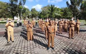 BKD Kalteng Gelar Apel Silaturahmi Idul Fitri 1442 Hijriyah