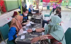 Kodim Muara Teweh Adakan Vaksinasi Covid-19 untuk Purnawirawan dan Warakawuri