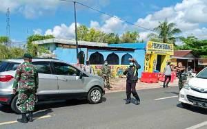 Pos Penyekatan di Jalan Mahir Mahar Antisipasi Kerawanan Arus Balik Pasca Lebaran