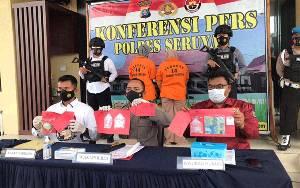 Jual Narkoba, Dua Ibu Rumah Tangga di Kuala Pembuang Diringkus Polisi