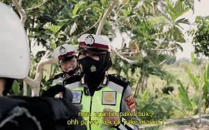 Polisi Edukasi Masyarakat Lewat Film Komedi