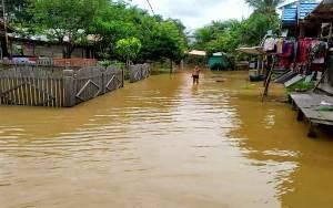 Ketinggian Banjir di Barito Utara Capai 1 Meter