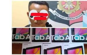 Pencuri di SMAN 2 Karau Kuala Terungkap Setelah Jual Hasil Curian di Medsos