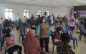 Sukamara Yakin Lampaui Target 60 Persen Vaksinasi Bagi Lansia