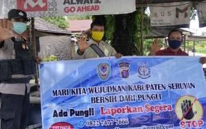 Polsek Hanau Sampaikan Sosialisasi Pencegahan Pungli