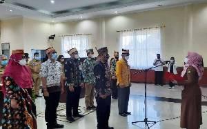 Wakil Wali Kota Palangka Raya Kukuhkan Pengurus Badan Promosi Pariwisata Daerah