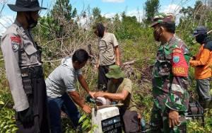 Antisipasi Karhutla, Tim Gabungan Cek Kondisi Sumur Bor di Katimpun