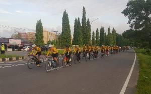 Jasdam XII/Tanjungpura Rutin Bersepeda Jaga Kebugaran