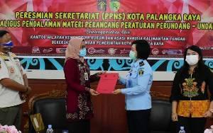 Pemko Palangka Raya Akhirnya Miliki Sekretariat PPNS
