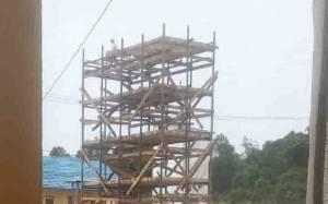 Wah, Kantor Desa Dibangun Gedung Walet