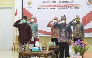 Ketua DPRD Seruyan Ikuti Peringatan Hari Lahir Pancasila
