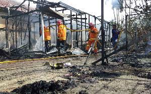 50 Personel Diterjunkan untuk Padamkan Kebakaran di Sampit