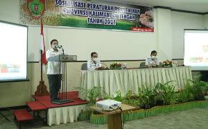 Dinas TPHP Kalteng Sosialisasikan Peraturan Perbenihan Tahun 2021