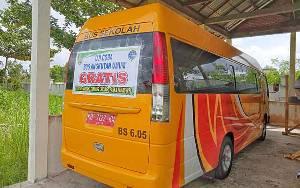 Dinas Perhubungan akan Ujicoba Angkutan Umum Gratis Ampah - Tamiang Layang