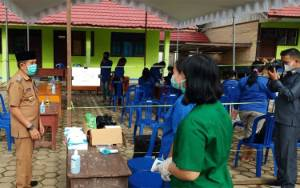 Wabup Murung Raya Pantau Kesiapan TPS untuk Pilkades Serentak
