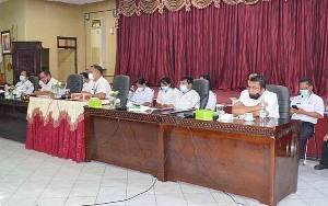 DPRD Barito Timur Bahas Pembangunan Kualitas Pertanian Bersama Distankep