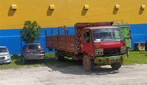 Rem Blong Diduga Penyebab Tabrakan Truk dengan Motor di Pangkalan Bun
