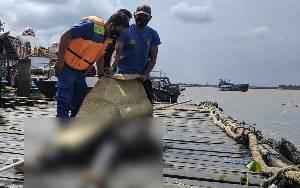 Mayat Ditemukan Mengapung di Sungai Mentaya Belakang PPM Sampit