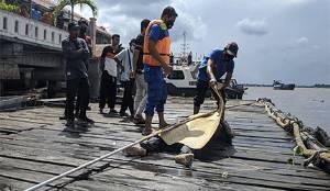 Jasad Mengapung di Sungai Mentaya Diduga Pria Yang Masuk Rumah Warga Baamang Hilir