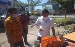 Wali Kota Palangka Raya Tinjau Pasar Tani