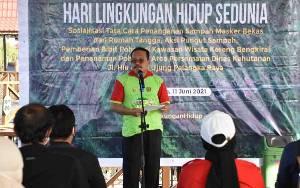 Plt Sekda Kalteng Buka Acara Hari Lingkungan Hidup