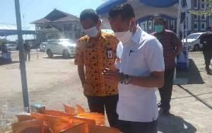 Wali Kota Palangka Raya Ajak Warga Belanja di Pasar Tani