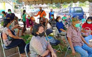 BPBD Damkar Barito Timur Siapkan Tenda dan Angkutan untuk Vaksinasi Lansia