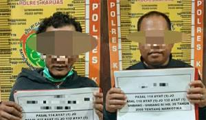 Polisi Tangkap Dua Laki-Laki Ini Karena Sabu
