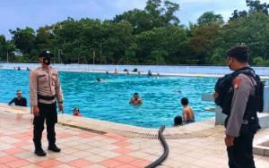Polresta Palangka Raya Lakukan Patroli Cipta Kondisi di Obyek Wisata