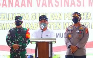 Gubernur Kalteng Ajak Masyarakat Sukseskan Program Vaksinasi Demi Pertumbuhan Ekonomi