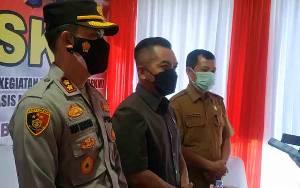 Ketua DPRD Seruyan Dukung Percepatan Vaksinasi Covid-19