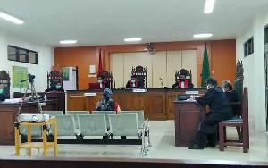 Tidak Terima Dituntut 7,5 Tahun Penjara Karena Sabu, IRT Minta Dibebaskan