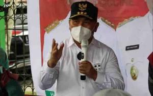 Gubernur Kalteng Minta Bupati dan Wali Kota Tidak Lengah dalam Pengendalian Covid-19