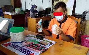 Polisi Amankan Pengedar dan Barang Bukti 26 Paket Sabu
