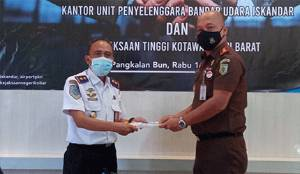 UPBU Iskandar Pangkalan Bun Kembali Perbaharui MoU dengan Kejari Kobar
