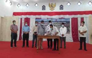 Pemkab Sukamara Tandatangani Kerjasama Bersama 4 Perusahaan Perkebunan