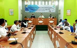 Dinkes Barito Utara Gelar Pertemuan Monitoring Evaluasi Program Imuniasi Triwulan II