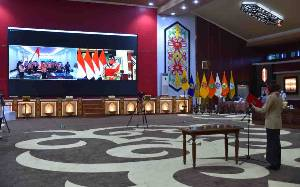 Ivo Sugianto Sabran Lantik Nadalsyah Sebagai Ketua Majelis Pembimbing Cabang Gerakan Pramuka Barito Utara